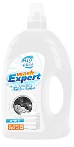 WashExpert Гель для стирки белого белья WHITE 4300мл