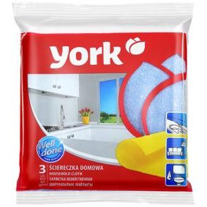 York Салфетки для уборки дома 3шт