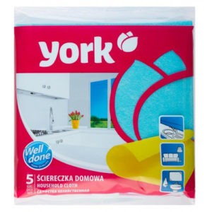 York Салфетки для уборки дома 5шт
