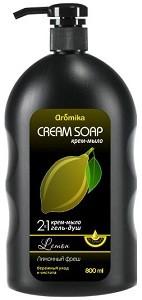 Аромика Крем-Мыло+Гель для душа 2в1 Лимонный Фреш 800мл