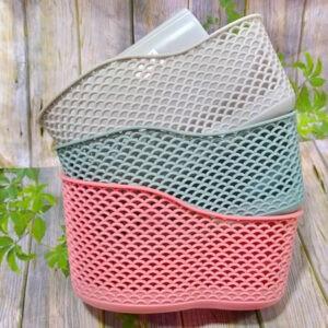 Пластиковая подвесная корзина
