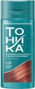 Тоника Бальзам оттеночный 5.35 Красный янтарь 150мл