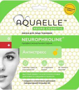 Aquaelle Тканевая маска для лица Антистресс Neurophroline 27мл