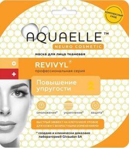 Aquaelle Тканевая маска для лица Повышение Упругости Revivyl 27мл