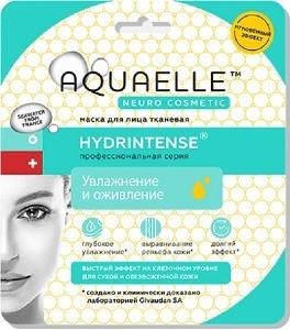 Aquaelle Тканевая маска для лица Увлажнение и Оживление Hydrintense 27мл