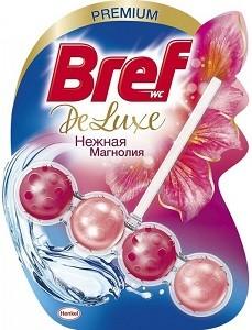 Bref Deluxe Чистящее средство для унитаза Нежная Магнолия 50гр