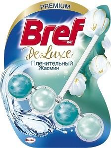 Bref Deluxe Чистящее средство для унитаза Пленительный Жасмин 50гр