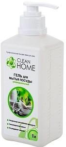 Clean Home Гель для мытья посуды Универсальный 1000мл