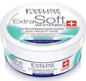 Eveline Cosmetics Extra Soft Whitening Крем для лица и тела Отбеливающий 200мл
