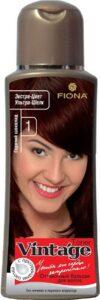 Fiona Vintage Оттеночный бальзам для волос №1 Горячий шоколад 125мл