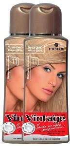 Fiona Vintage Оттеночный бальзам для волос №11 Жемчужно-пепельный 125мл