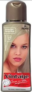 Fiona Vintage Оттеночный бальзам для волос №12 Серебристо-пепельный 125мл