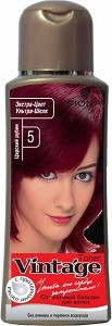 Fiona Vintage Оттеночный бальзам для волос №5 Царский рубин 125мл