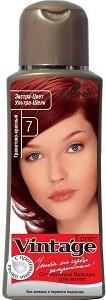 Fiona Vintage Оттеночный бальзам для волос №7 Гранатово-красный 125мл