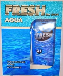 Fresh Aqua Подарочный набор Шампунь 300мл+Гель для душа 300мл