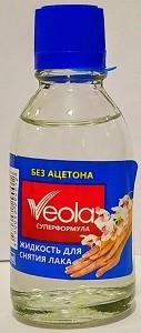 Veola Жидкость для снятия лака 28мл
