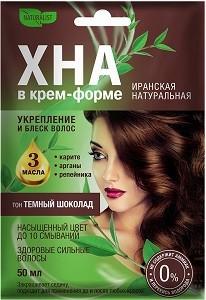 Naturalist Крем-форте для волос Иранская Натуральная Тёмный Шоколад 50мл