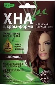 Naturalist Крем-форте для волос Иранская Натуральная Шоколад 50мл