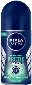 Nivea Men Антиперспирант ролик ARCTIC OCEAN 50мл
