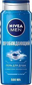 Nivea Men Гель для душа Пробуждающий 500мл