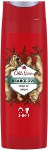 OLD SPICE Гель для душа + шампунь 2в1 Bearglove 400мл