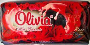 Olivia Мыло с Экстрактом Розы 140гр