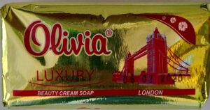 Olivia Luxury Мыло туалетное London 140гр