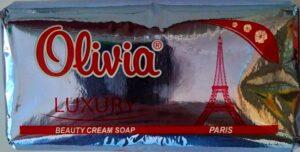 Olivia Luxury Мыло туалетное Paris 140гр