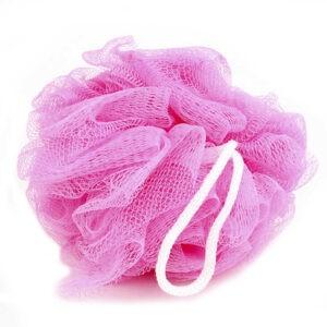Gloss Мочалка для тела Шар Розовый 1шт