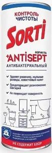 Sorti Универсальное чистящее средство без Хлора Антибактериальная формула Antisept 500гр