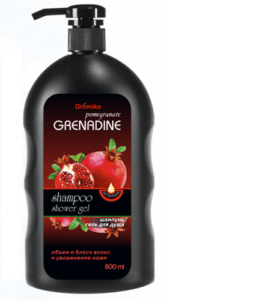 Аромика Шампунь + Гель для душа Pomegranate Grenadin 800мл
