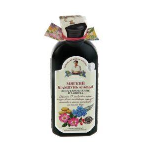 Рецепты Бабушки Агафьи шампунь мягкий Восстановление и Защита 350мл