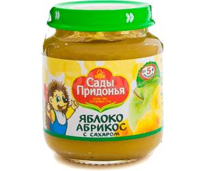 Сады Придонья пюре Яблоко-абрикос 120мл
