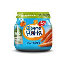 Фруто Няня пюре Морковное банка 80мл