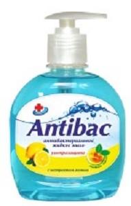 Antibac Жидкое мыло Антибактериальное с Экстрактом Лимона 330мл