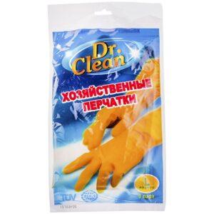 Dr. Clean Хозяйственные перчатки L Резиновые 1шт