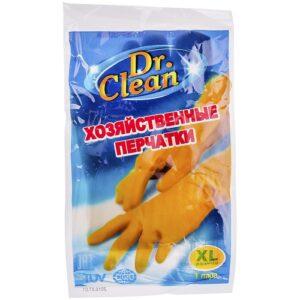 Dr. Clean Хозяйственные перчатки XL Резиновые 1шт