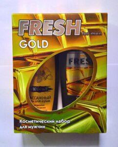 Fresh Gold Подарочный набор Шампунь 300мл+Гель для душа 300мл