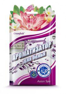 Greenfield ароматизатор для белья Asia Spa 15гр