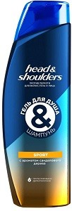 HEAD & SHOULDERS шампунь и гель для душа 2в1 Sport 360мл