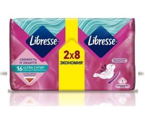 Libresse Гигиенические прокладки Ultra Супер 16шт