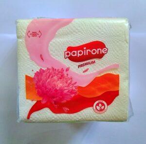 Papirone Premium салфетки Белые 100шт