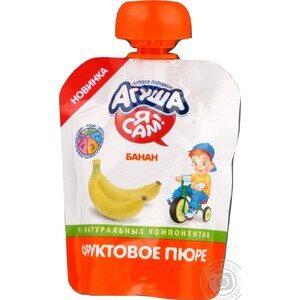 Агуша Я Сам Пюре фруктовое Гипоаллергенное Банан 90мл