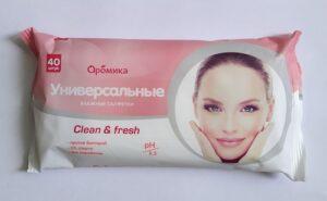 Аромика Влажные Салфетки Универсальные Clean&Fresh 40шт
