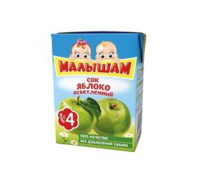 Малышам сок Яблоко 200мл