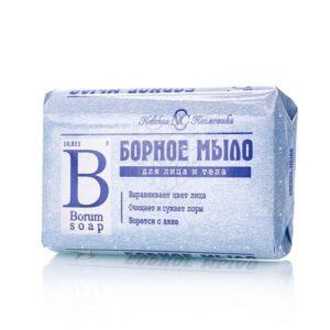 Невская Косметика Мыло для лица и тела Борное 90гр