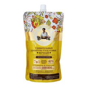 Рецепты Бабушки Агафьи шампунь-уход 7в1 Яичный 500мл