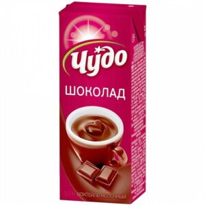 Чудо молочный коктейль Ароматизированный Шоколад 200мл