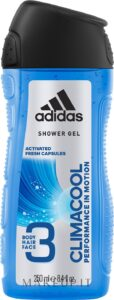 ADIDAS Men Гель для душа Body-Hair-Face Climacool 250мл