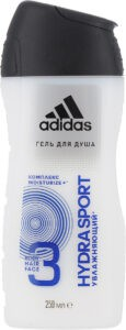 ADIDAS Men Гель для душа Body-Hair-Face Hydra Sport 250мл